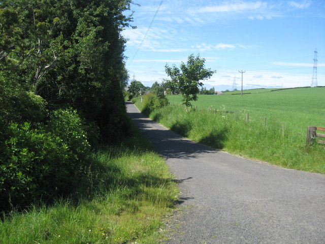 Access road to Todrig Farm