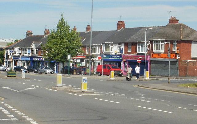 Maesglas shops, Newport