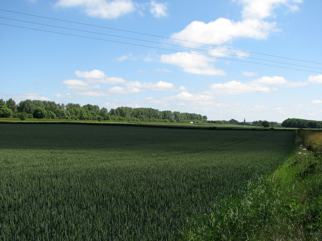 Former ironstone quarry between Sewstern and Stainby