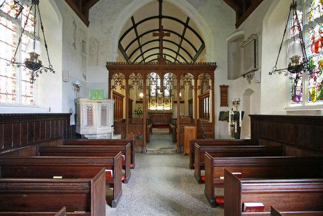 All Saints, Shotesham, Norfolk - East end
