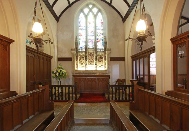 All Saints, Shotesham, Norfolk - Chancel