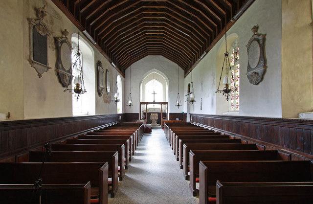 All Saints, Shotesham, Norfolk - West end
