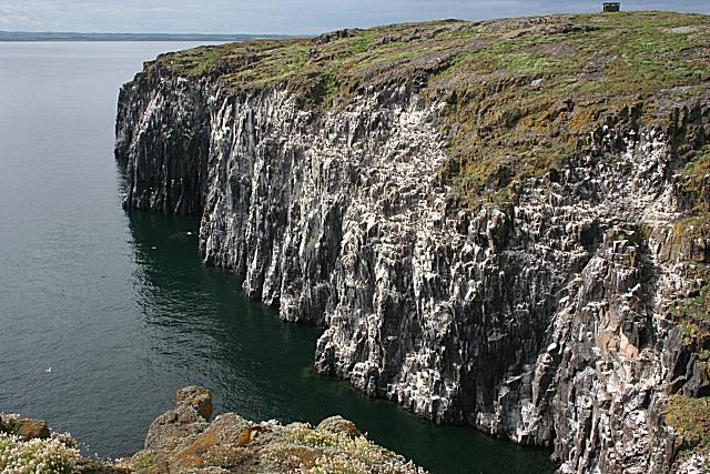 Cliffs from Mill Door
