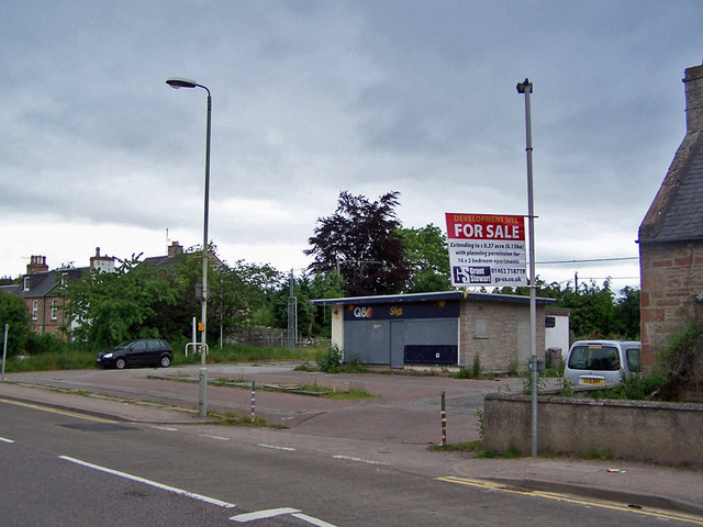 Development site, Conon Bridge