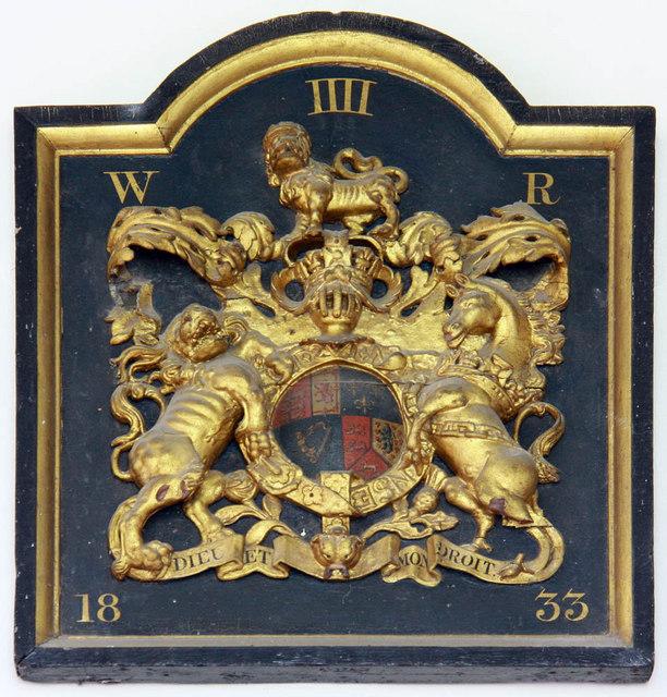All Saints, Shotesham, Norfolk - Royal Arms