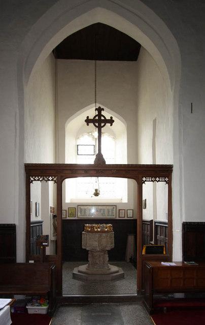 All Saints, Shotesham, Norfolk - Font