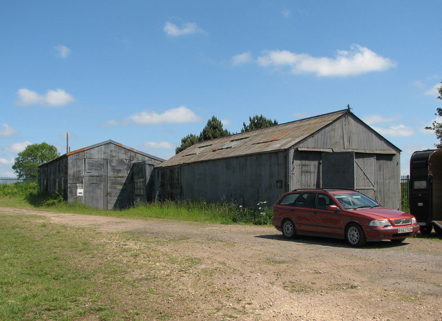 Former ironstone railway engine shed