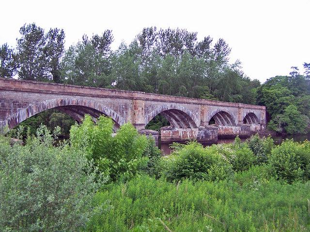 Railway bridge, Conon Bridge (1)