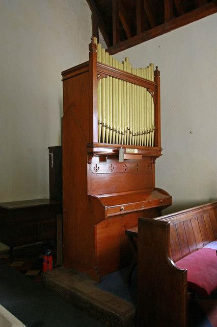 St Margaret, Kirstead, Norfolk - Organ