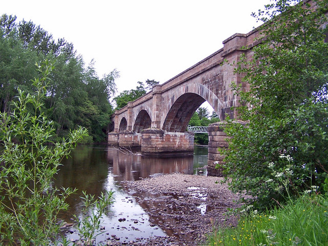 Railway bridge, Conon Bridge (2)