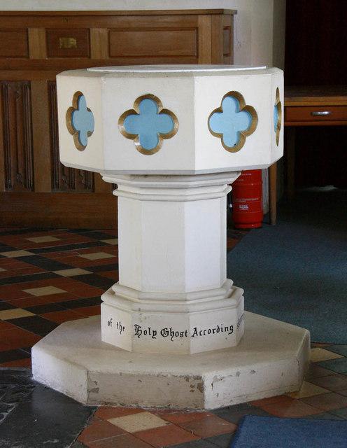 St Margaret, Kirstead, Norfolk - Font