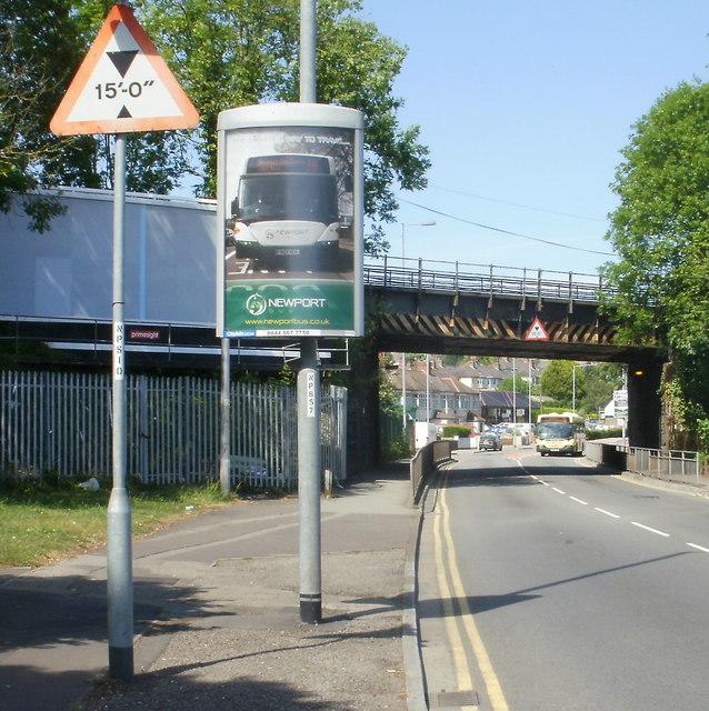 Cardiff Road railway bridge, Newport