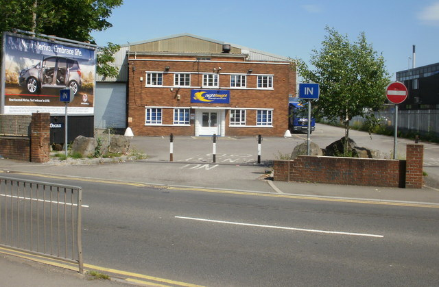 Nightfreight depot, Newport