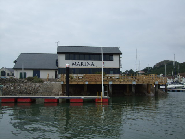 Deganwy Marina office