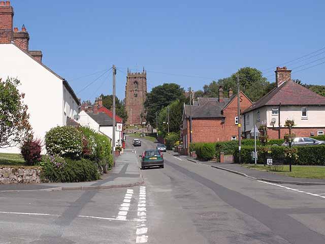 Cheswardine High Street