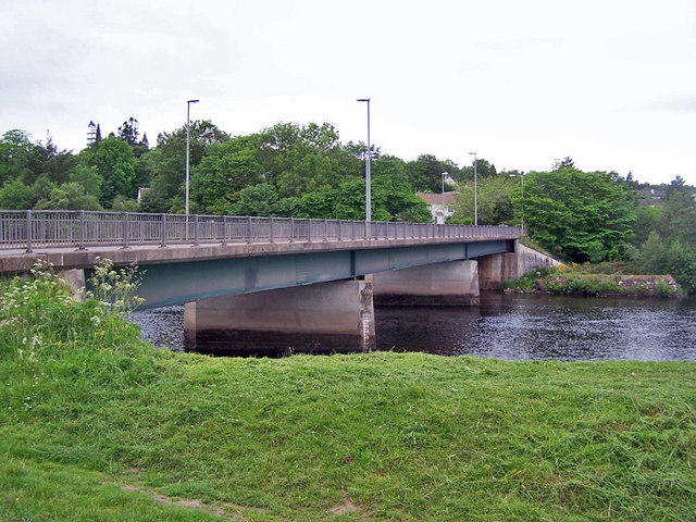 Road bridge over River Conon