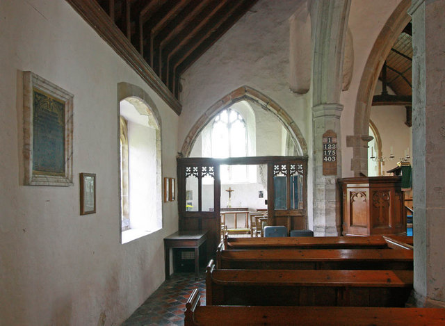 St Mary, Stone in Oxney, Kent - North aisle