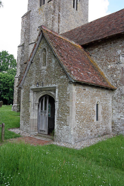 St Mary, Stone in Oxney, Kent - Porch