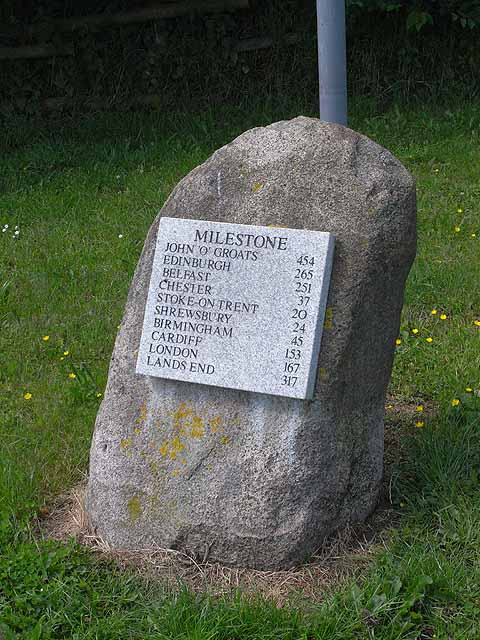 Comprehensive milestone at Cheswardine