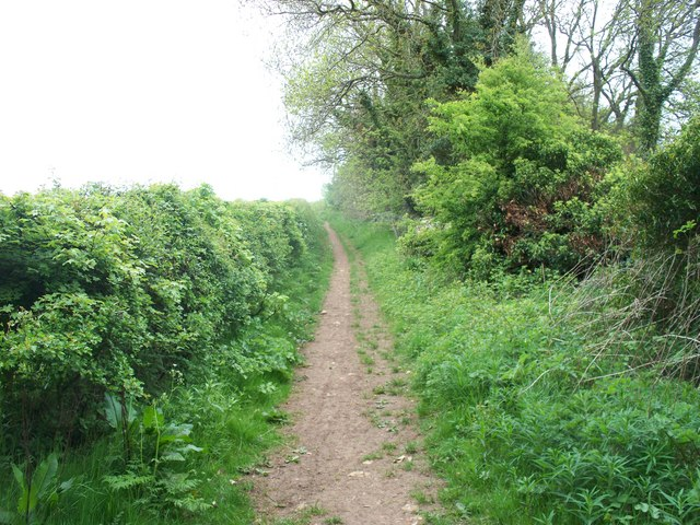 Enclosed bridleway [1]