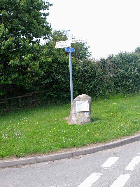 Signpost at Cheswardine