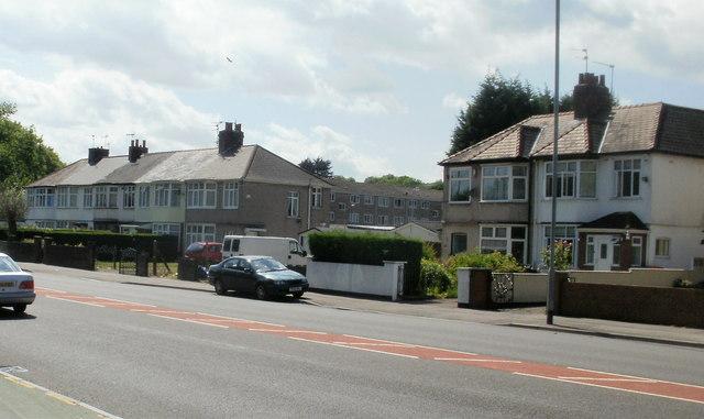 Cardiff Road houses, Newport