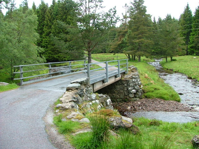 Bridge on the Garbole to Farr road