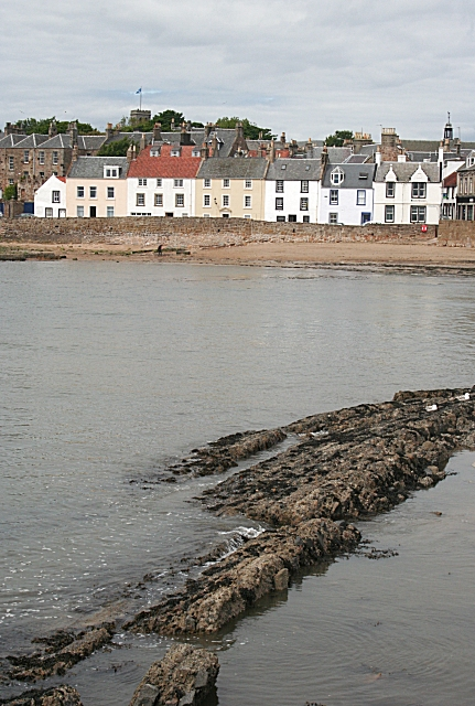 Anstruther from the West Breakwater