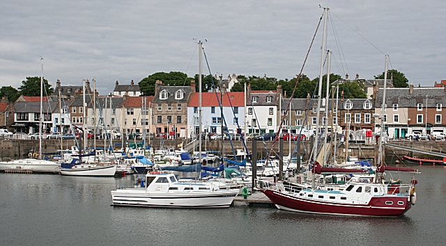 Anstruther from the Harbour