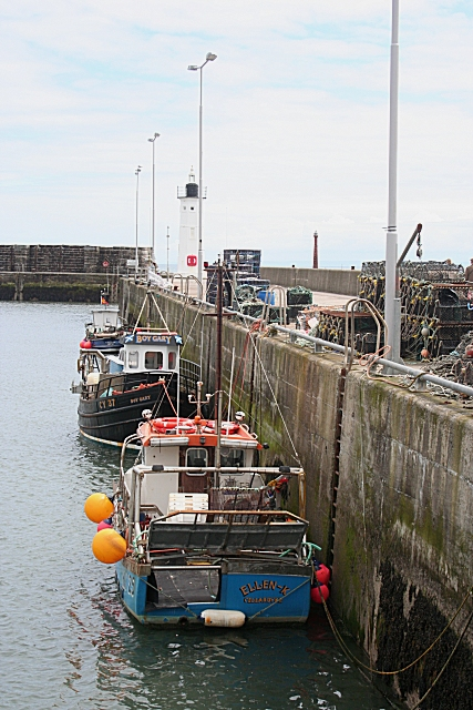 Fishing Boats at Anstruther