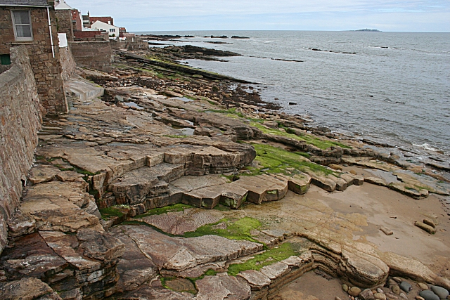 Sandstones on the Shore