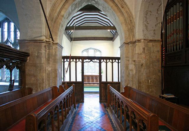 St Michael, Playden, Sussex - Chancel