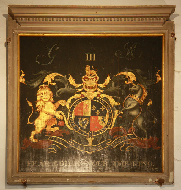 St Michael, Playden, Sussex - Royal Arms