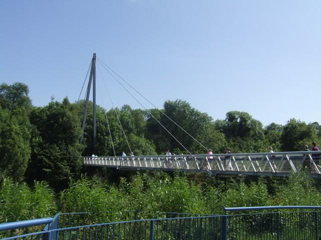 Footbridge over the River Boyne