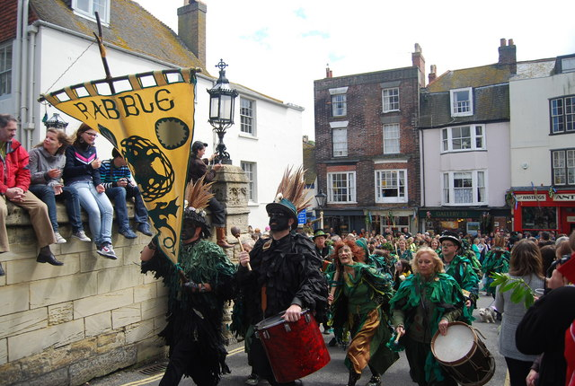 Jack in the Green Festival 2010 - Rabble drummers