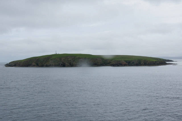 Lamba, Yell Sound, from the west