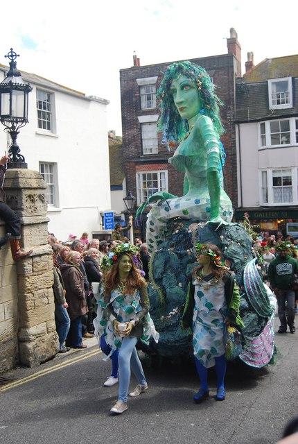 Jack in the Green Festival 2010 - Mermaid