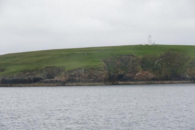 Beacon on Lamba, Yell Sound