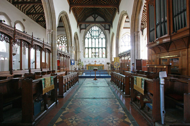 St Mary, Rye, Sussex - Chancel