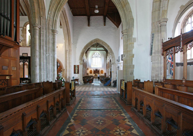 St Mary, Rye, Sussex - West end