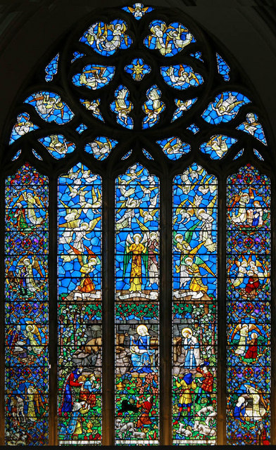 St Mary, Rye, Sussex - Window