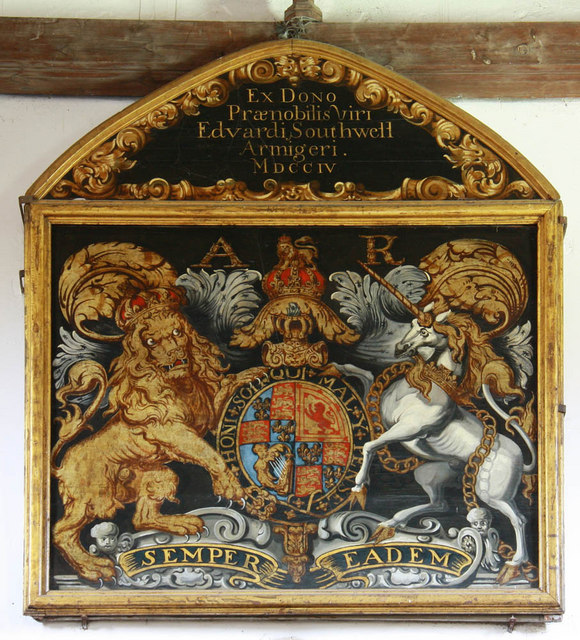 St Mary, Rye, Sussex - Royal Arms