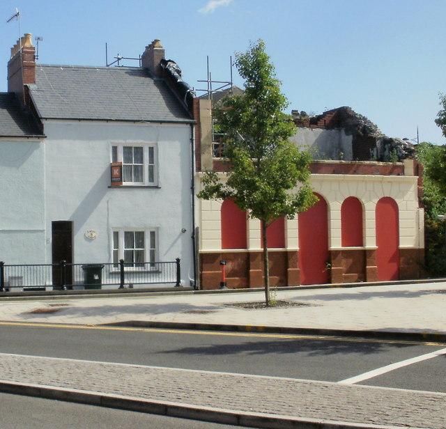Former Rodney Arms pub, Newport