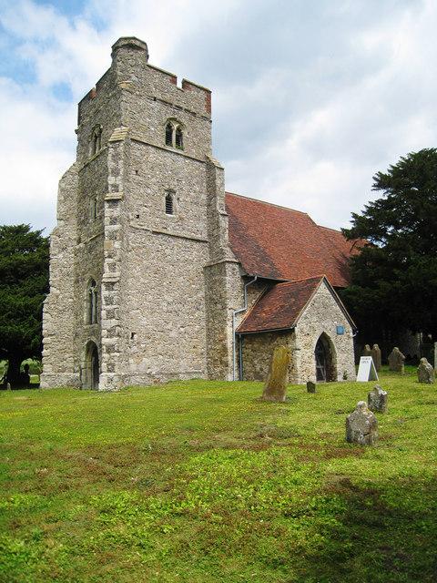 Church of St Mary The Virgin, Burham Court, Kent