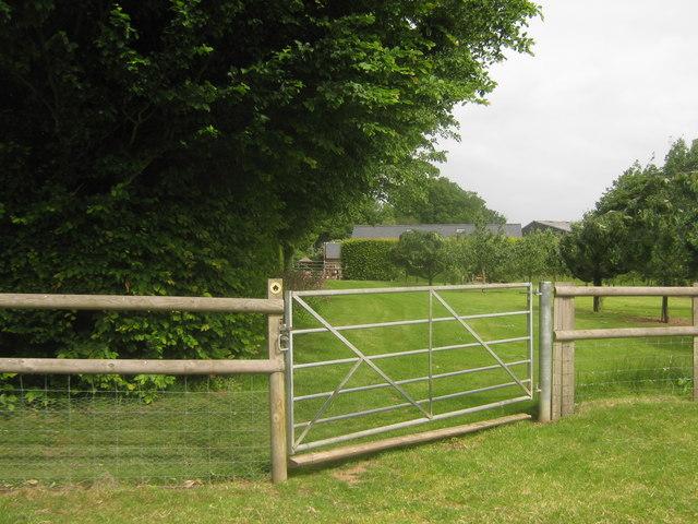 Gate near Hault Farm