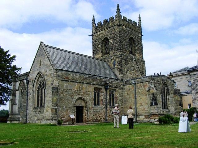 All Saints', Kedleston