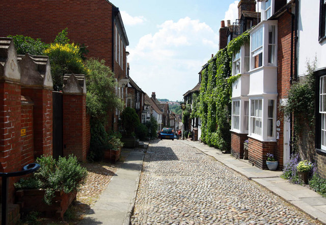 Cobbled street, Rye, Sussex
