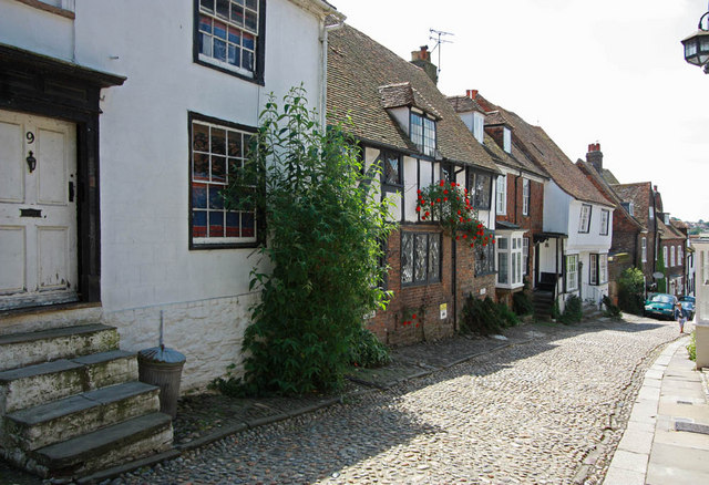Cobbled street, Rye, Sussex