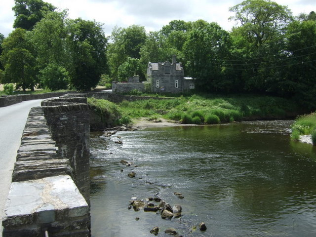The Teifi at Pont Lechryd