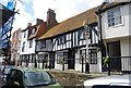 TQ8209 : Half timbered cottage, High St by N Chadwick